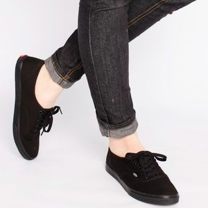 Vans Off The Wall Women's Black Low Top Shoes 7